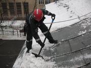 Уборка  снега  и  наледи  в  Астане